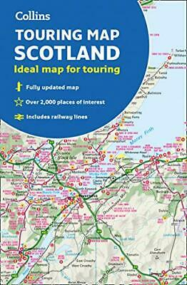 Scotland Touring Map by Collins Maps New Sheet map  folded Book