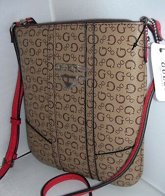 cee9804c37 NWT GUESS LOGO Nichols Womens Natural Backpack SV644030 -  59.99 ...