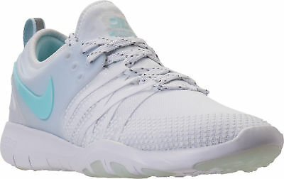 1e5d56b76825c Nike Free TR 7 Reflect Women s Training Shoes White Blue AA2238-100 SIZE 10