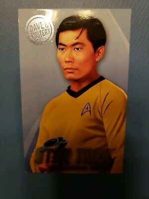 Dave and Buster's Star Trek Original Series Card - Sulu - Coin Pusher
