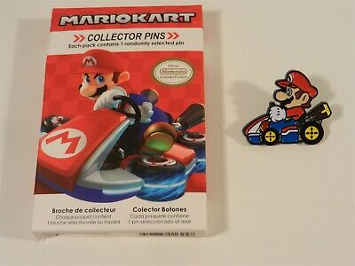 Nintendo Super Mario Kart Series 2 Collector Pins - Mario