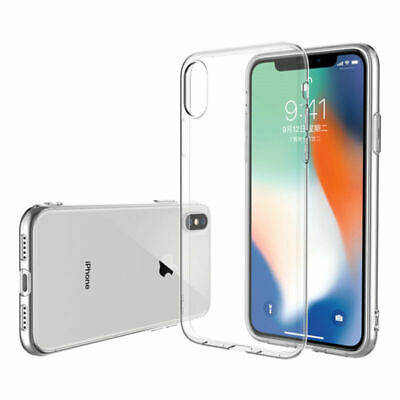 Slim Silicone Soft Clear TPU Shockproof UNBreak For iPhone XS Max XR Case Cover
