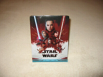 Star Wars: Episode VIII: The Last Jedi [Blu-ray 3D & 2D Steelbook -Blufans BE47]