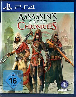 PC-Spiel / PlayStation / PS4 - Assassin's Creed Chronicles +++ PNr0090 +++*