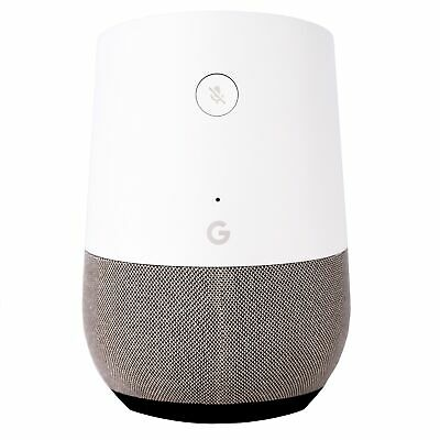 Google Home Smart Speaker with Google Assistant - White/Slate