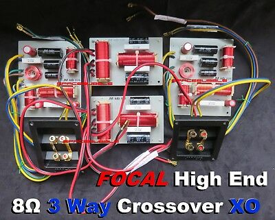 JMlab FOCAL Pair XO Crossover for Home Loudspeaker PROFILE ELECTRA UTOPIA DIY