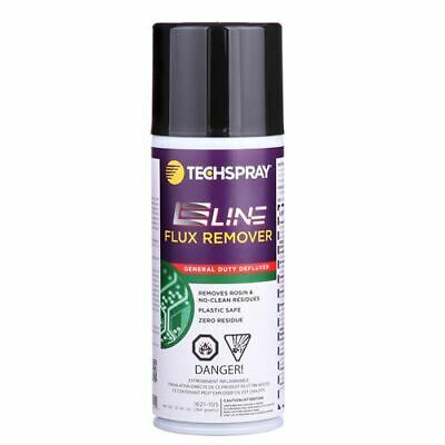 New (1) 10 oz Can of TechSpray E-Line Flux Remover 1621-10S General Duty Ecoline