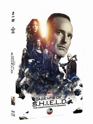 Agents of S.H.I.E.L.D.: The Complete Fifth Season (DVD, 2018, 5-Disc Set) Sealed
