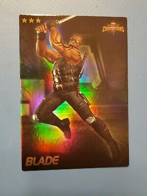 Marvel Contest of Champions MCOC Dave & Busters BLADE Foil Card 7