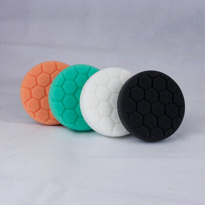 Chemical Guys 4 inch Hex Logic Spot Pads Full Kit - Polishing Pads Set
