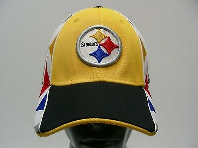 f6067ad1b6a Pittsburgh Steelers - Nfl - Reebok - L xl Size Stretch Fit Ball Cap Hat