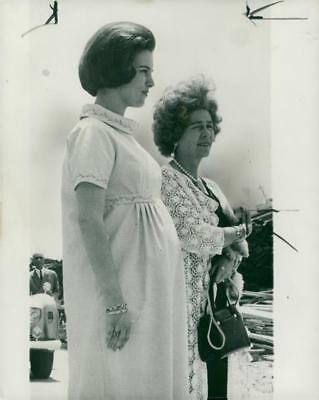 King Constantine and Queen Anne Marie Upto 1966 With Queen Frederika. - Vintage