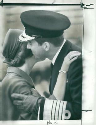 King Constantine and Queen Anne Marie Upto 1966. - Vintage photo
