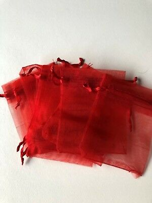 Organza Bag Sheer Bags Jewellery Wedding Candy Packaging Gift 50pcs