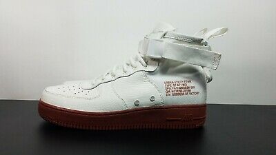 829e209fe880 Nike SF AF1 Air Force 1 Special Forces Men s Shoes White 917753-100 Sz 9.5