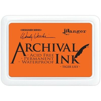 Archival Ink Pad  by Wendy Vecchi #0- Tiger Lily