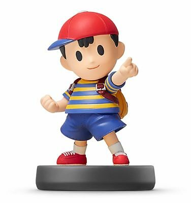 Nintendo amiibo NESS Super Smash Bros. 3DS Wii U Game Accessories NEW from Japan