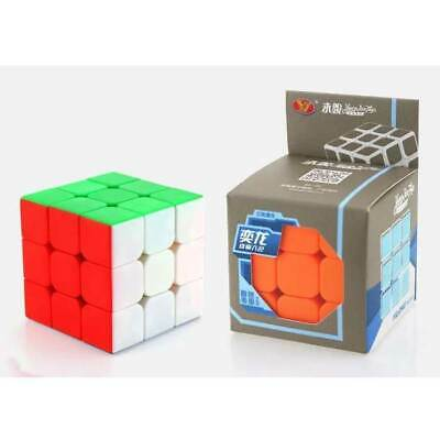 3x3x3 Magic Cube Matte Surface Fast Speed Rubik Puzzle Twist Rubics Rubix Cube