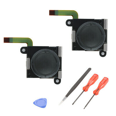 2pcs Analog Thumb Joystick Repair Parts Replacement for N-Switch Joy-Con AC1494