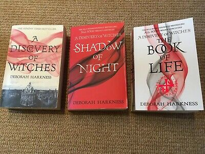 Set Of 3 Discovery Of Witches By Deborah Harkness