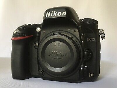 Nikon D610 24mp Digital SLR Camera (body only)