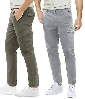 Pantaloni Multi Tasche Uomo Slim Tasconi Laterali Chino Casual GIROGAMA 8225IT