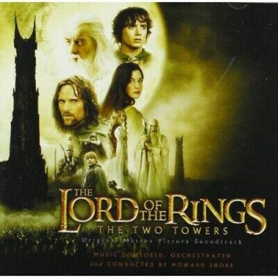 Original Soundtrack: Howard Shore - The Lord of the Rings: The Two Towers CD NEW