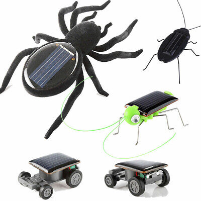 Educational Solar Powered Car Spider Robot Toy Solar Powered Toy Gadget Gift