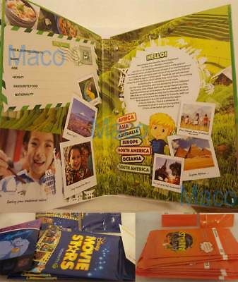 Woolworths World Explorers Activity and Collector's Album with 45 Cards