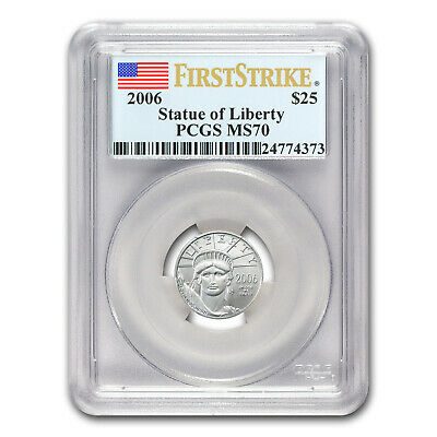 2006 1/4 oz Platinum American Eagle MS-70 PCGS (First Strike) - SKU#68333