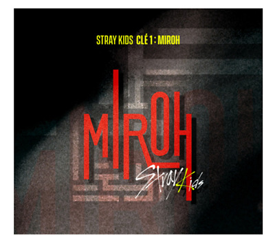 "K-POP STRAY KIDS 4th Mini Album ""Clé 1 : MIROH"" MIROH Ver - 1 Photobook + 1 CD"