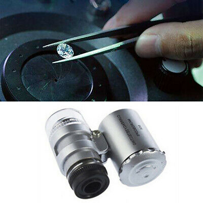 Micro Schmuck Diamant Tester Diamanten Simulation LED Licht Travel Size Tool