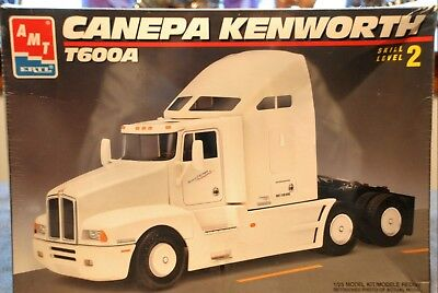AMT ERTL CANEPA Kenworth T600A Semi Truck Model Kit #6020