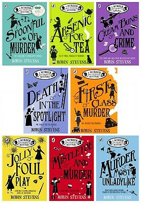 Robin Stevens Collection- A Murder Most Unladylike Mystery 8 Books Set Pack