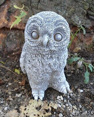 Owl latex mold with plastic backup plaster concrete mold
