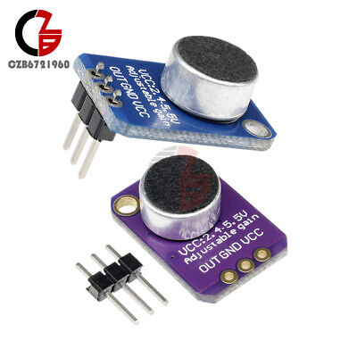GY-4466 MAX4466 Electret Microphone Amplifier Adjustable Gain for Arduino ❃⚡✤