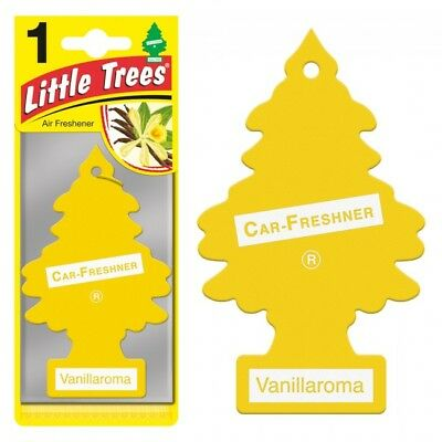 VANILLAROMA TREES MAGIC TREE AIR FRESHENER -CAR VAN BOAT HOME vanilla