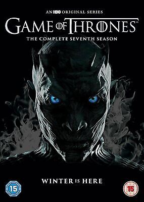 Game of Thrones Season 7 The Complete Seventh 7th Series DVD Brand New Sealed