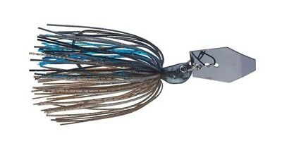 Z-MAN Jack Hammer Bladed Jig Chatterbait 1.25 oz #CBJH125-07 Green Pumpkin