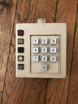 Original TRW Keypad BTTF Time Circuits Back To The Future