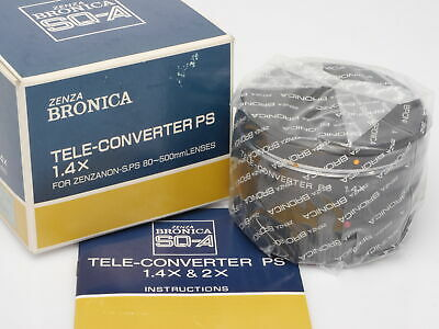 Zenza Bronica SQ-A Tele-Converter PS 1.4x *NEW OLD STOCK*
