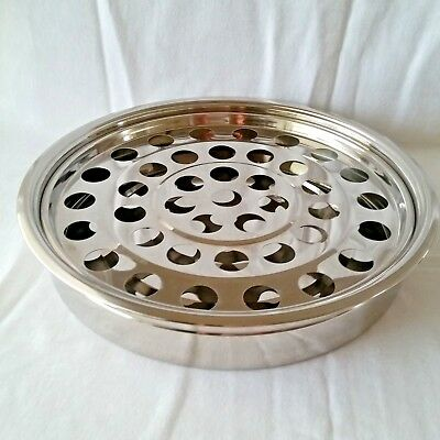 RemembranceWare Silver Stainless Steel Communion Tray and 40 Cup Disc MSRP$65.99