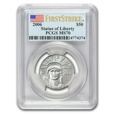 2006 1/2 oz Platinum American Eagle MS-70 PCGS (First Strike) - SKU #68334