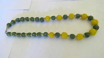 ANCIENT Multi-Color Variety Sizes Carnelian   BEADS THAILAND  NECKLACE