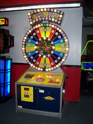 Skee Ball Spin-N-Win Arcade Redemption Game Excellent Condition