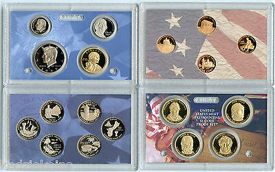 2009 Proof Coin Set - United States Mint Official - 18 Coins U.S.
