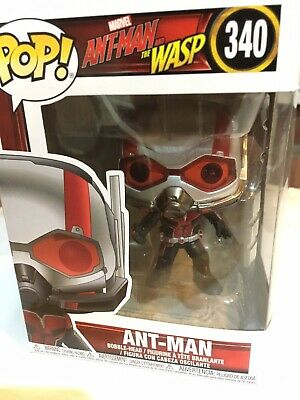 Ant-Man And The Wasp POP ANT MAN  Vinyl Figure Funko MARVEL 340