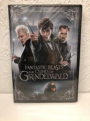 Fantastic Beasts The Crimes of Grindelwald 2019 DVD Brand New Single Disc Edit.