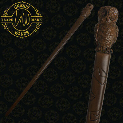 """Harry Potter Owl Wand 13.5"""", Noble, Noctua, Hedwig, Pottermore, Wizarding World"""