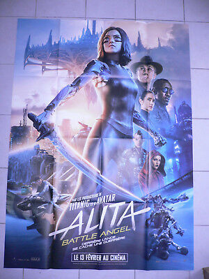 AFFICHE CINEMA 120 x 160 -  ALITA... Battle Angel...